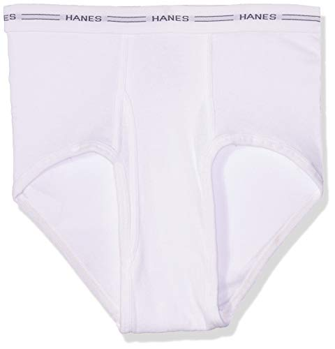 Hanes Men's No Ride Up Briefs with Comfort Flex Waistband - Large - White  (7Pack)