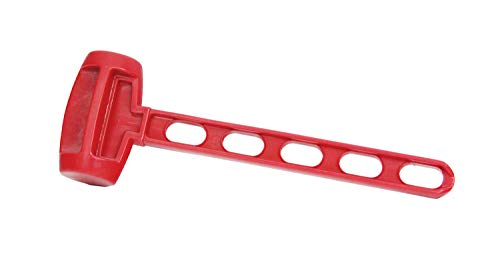 Texsport Tent Stake Mallet red, 13x4x2.5