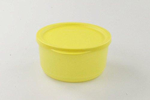 TUPPERWARE Kühlschrank Geburtstagskracher rund 530 ml gelb Frischebehälter Dose 17182