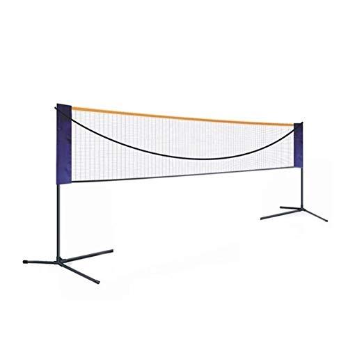 zaote Draagbare Standaard Badminton Net Set Voor Tennis, Pickleball, Kids Volleybal - Eenvoudige Instelling Sport Net Met Palen - Voor Indoor Of Outdoor Court, Strand, Oprit draagbaar aantrekkelijk