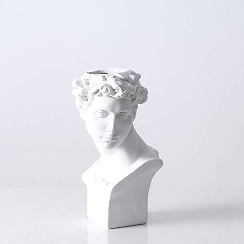 SJIUH Estatua 1 Unids Gran David Retrato Escultura