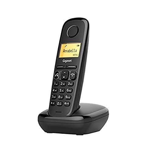 Gigaset A270 Telefono DECT Nero Identificatore di chiamata