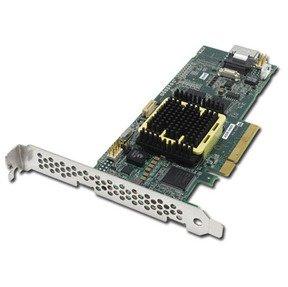Adaptec ASR5405-KIT 5405 RAID-kaart 4-poorts 8-baans PCIe voor SATA/SAS-schijven (RoHS)