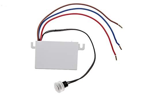 HUBER Twilight 2 Dämmerungsschalter aussen, Dämmerungssensor einstellbar [5-50 Lux], Sensor IP44 geschützt I Einbau Dämmerung Schalter, 230V