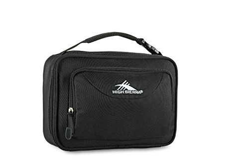 High Sierra Single Compartment Lunch Bag, Black, One...