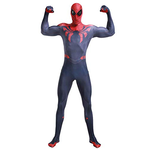 Spiderman Fancy Dress Kostuum Marvel Hero Superior Spider-Man Cosplay Kostuum Volwassen Kinderen Halloween Kerst Kostuum Prop