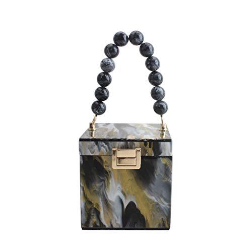 Boji Bolso de mano para mujer, diseño de caja de regalo