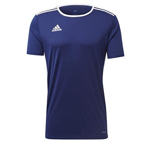 adidas Herren Entrada 18 Aeroready Primegreen Regular Fit Fußball Kurzarm Trikot dunkelblau/weiß, XXL