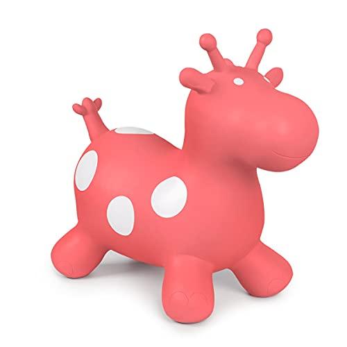 ROBUD Hüpfpferd Hüpfspielzeug Giraffe...