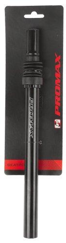Promax SP-584 Gefederte Kerzensattelstütze, schwarz- ⌀27,2mm, L: 350mm