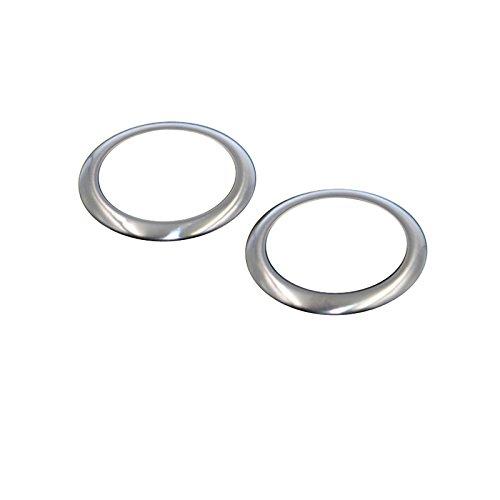 Para ASX 2010-2019 ABS cromo puerta estéreo altavoz anillo