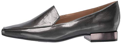 Naturalizer Women's CLEA Loafer Flat, Gunmetal, 9 M US