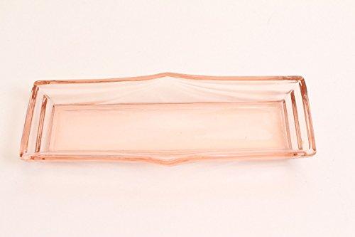 Unbekannt 20er Jahre Pressglas Frankreich Art Deco Schale Ablage Bad