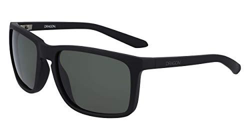 Dragon Mens DR MELEE Sunglasses, MATTE BLACK, 59mm, 18mm, 135mm