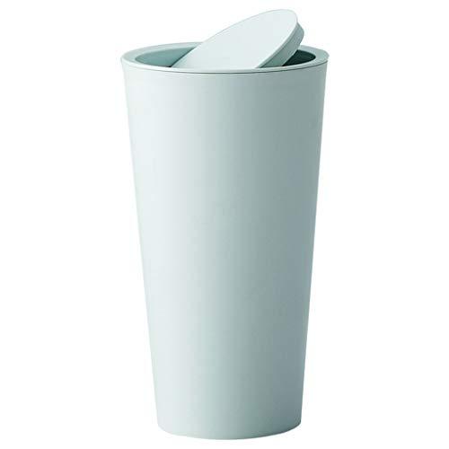 Mülleimer Desktop Grün Büro Tischmülleimer mit Deckel Mini Geruchsdichter Luftdicht Schreibtisch Papierkorb Mülleimer Desktop Trash Can Rubbish Bin Anti-leck Mülleimer