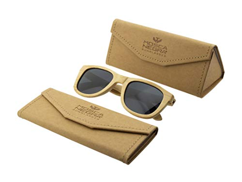 Gafas de sol madera MOSCA NEGRA modelo BAMBOO and Dark - Polarized - Unisex