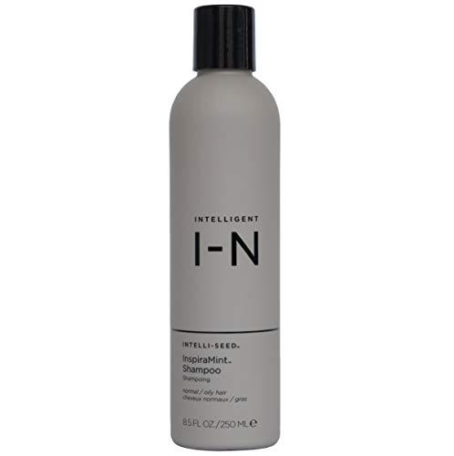 Intelligent Nutrients InspiraMint Invigorating Shampoo - Non-Toxic Shampoo with Peppermint & Spearmint Oil - New Look, Same Tingle (8.5 oz)