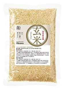 オーサワジャパン 国内産有機玄米 (コシヒカリ) 300g