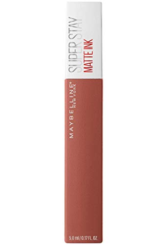 Maybelline New York – Rouge à Lèvres Mat Liquide – Longue Tenue – Superstay Matte Ink – Teinte : Amazonian (70), 5 ml
