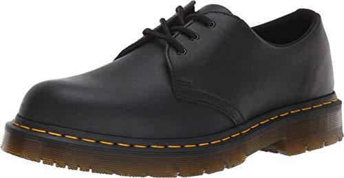 Dr. Martens Women's 1461 SR Food Service Shoe, Black Industrial Full Grain, 11