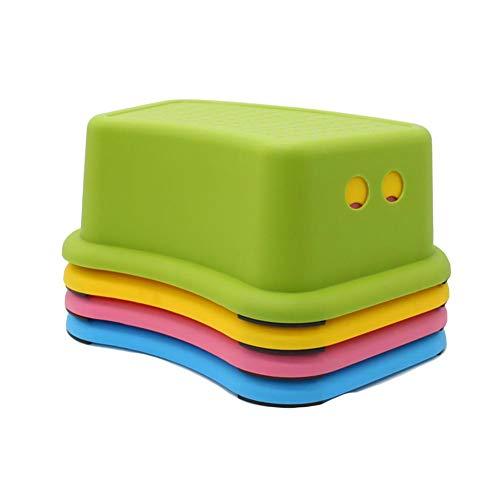 LYF STOOLS Kinderschemel, Squatty Potty WC Hocker, Anti-rutsch Toilette Trittschemel Rutschfester Verdicken Perfekt für Kinder-Badezimmer oder Kleinkind Toiletten Training - 4 PCS