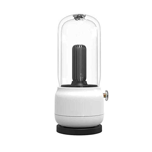 Bowcore Tafellamp, led-tafellamp, bedlampje met kaarsen, sfeerlicht, creatieve bureaulamp, draagbaar, oplaadbaar, nachtlampje, bureaulamp