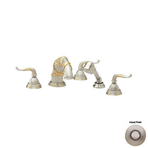 Find Discount Phylrich K2137R1_15A - Ribbon & Reed Deck Mounted Tub Set W/Hand Shower