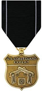 Medals of America Coast Guard Expert Pistol Medal Bronze