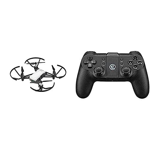 Dji Ryze Tello Mini Drone Ottimo Per Creare Video Con Ez Shots, Occhiali Vr E Compatibilità Con Controller & - Tello Gamesir, Radiocomando Per Drone Tello, Compatibile Con Ios E Android