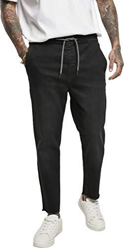 Urban Classics Hose Denim Jogger Jeans Pantalones de Vestir, Black, S para Hombre