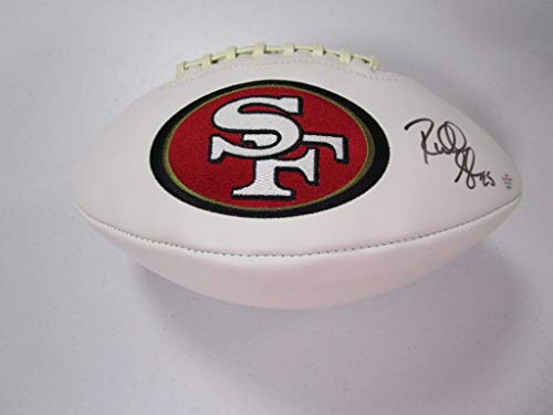 Dwight Clark San Francisco 49ers NFL Hand Signed 8x10 Photograph Catch vs Denver Broncos