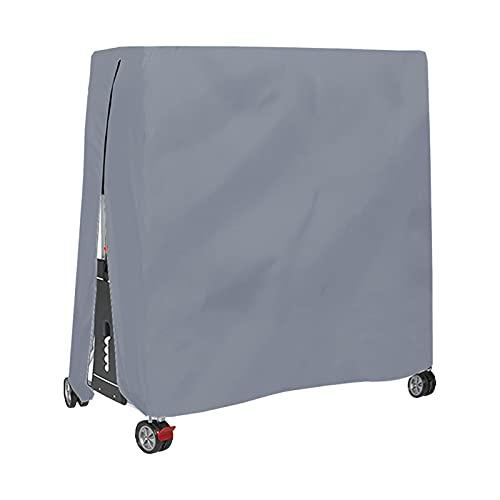 Cubierta De Mesa De Ping Pong Funda Protectora Para Mesa De Ping-Pong Impermeable Resistente Al Polvo Anti-UV Protección Oxford Cubierta Impermeable A Prueba De Viento Para Interiores Y Exteri