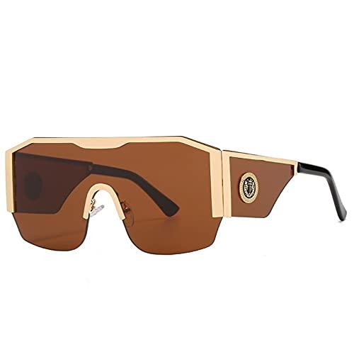 LUOXUEFEI Gafas De Sol Gafas De Sol Cuadradas De Gran Tamaño Para Hombres Gafas De Sol Negras Con Montura Grande Gafas De Sol Para Mujeres Al Aire Libre