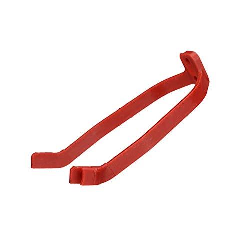 NICEJW Support D'absorption des Chocs De Garde-Boue, Support D'absorption des Chocs De Garde-Boue De Scooter électrique Durable Solide Compatible avec Mijia M365 / Pro-Noir, Blanc, Rouge Rouge