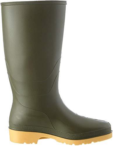 Dunlop Protective Footwear (DUNZJ) Dunlop Dull, Bottes & bottines de pluie Mixte Adulte, Green, 39 EU
