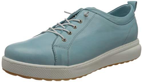 Andrea Conti 340071, Zapatillas Mujer, Eisblau, 38 EU