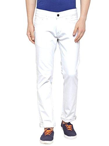 Ben Martin Men's Regular Fit Denim Jeans(BM-JNS-WHTE)