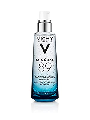 Vichy Mineral 89 Hydrating Hyaluronic Acid Serum and Daily Face Moisturizer For Stronger, Healthier Looking Skin