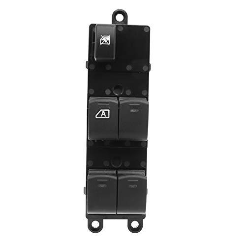 Agnus Botón de interruptor de ventana eléctrica delantera izquierda derecha para Nissan Navara D40 Qashqai Pathfinder 2004-2016 25401-EB30B 25401-JD00A (color: lado izquierdo)