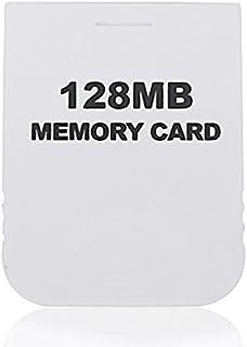 Honbay 128MB cartão de memória branco compatível com o console Wii & Gamecube