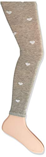 FALKE Mädchen Hearts Allover Leggings, grau (Storm Grey 3820), 98-104