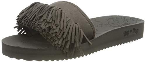flip*flop Damen Pool Hippie Sandale, Steel 0170, 37 EU