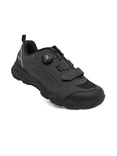 Spiuk Sportline Amara Cycling Shoe, Unisex, Adults, Black, 45