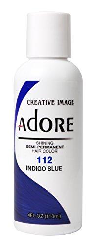 Adore Haartönung / Haarfarbe Semi Permament Color ,112,, INDIGO BLUE