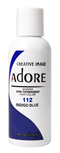 Adore Haartönung / Haarfarbe Semi Permament Color ,112,, INDIGO BLUE