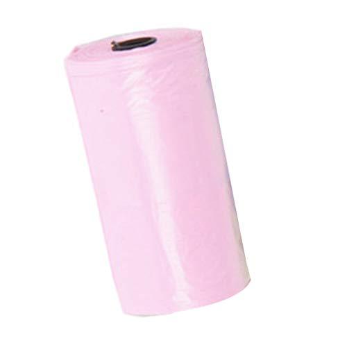 SYYL Farbe Zufällige Tragbare Baby Windeln Abandon Bag Roll Home Outdoor Einweg-Kunststoff-Müllbeutel (Color : 20pcs)