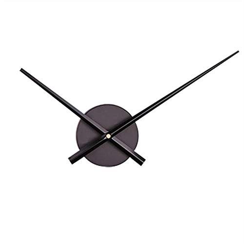 NXSP Kwarts-wandklok, designer-uurwerk, accessoires voor wandklok met foto met slinger, groot metaal, digitaal vintage