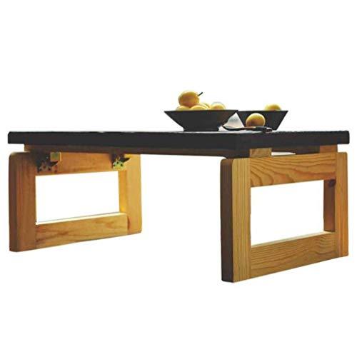 Klaptafel tuintafel eettafel massief hout salontafel Erker lage tafel klaptafel nachtkastje modern creatief multifunctioneel (kleur: beige) beige