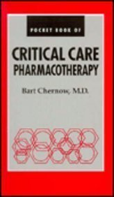 Paperback Pocket Book of Critical Care Pharmacotherapy Book