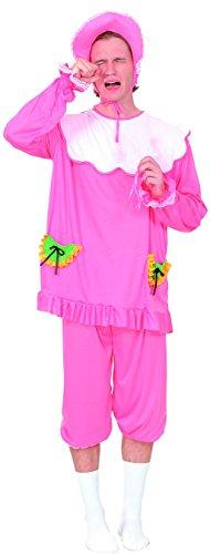 Rire Et Confetti - Fiabab001 - Déguisement pour Adulte - Costume Bébé Rose - Taille M
